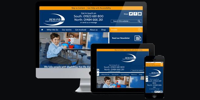 DEMAND responsive website