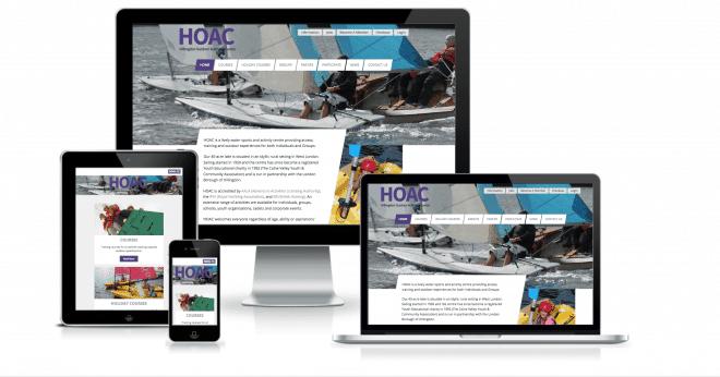 HOAC responsive website